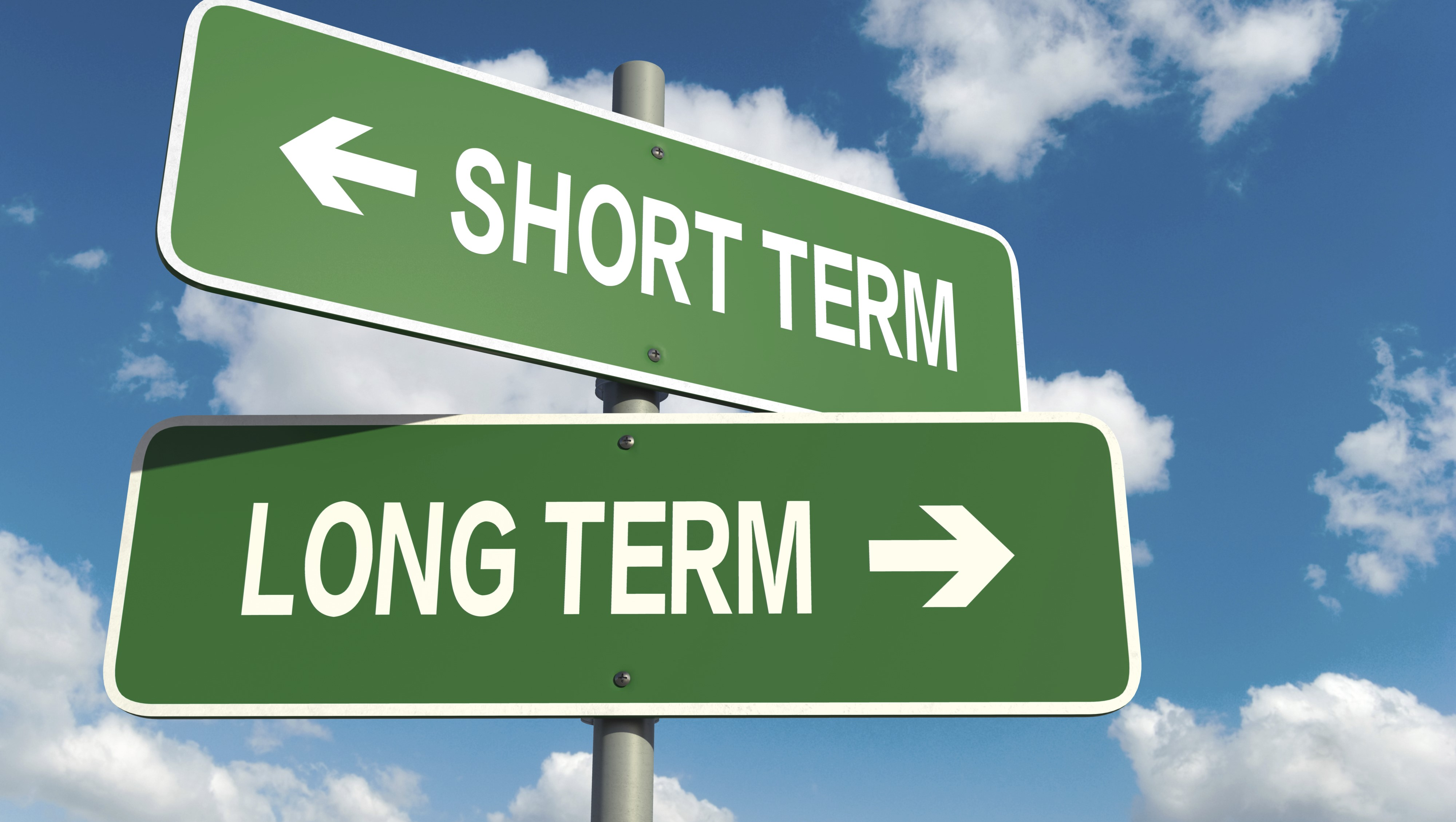 long term trading hay intraday trading